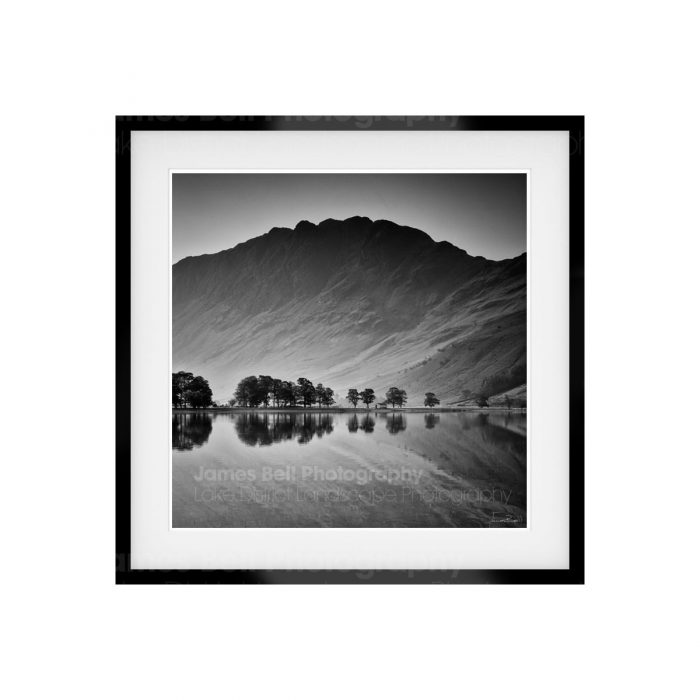 Haystacks Reflection Fine Art Print