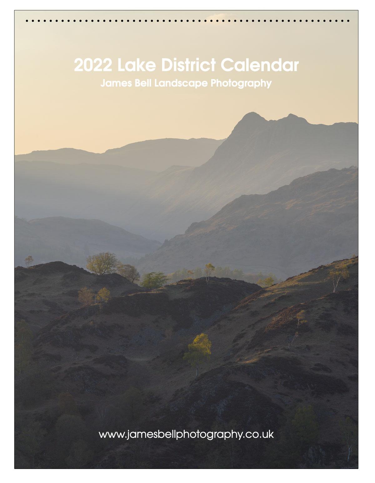 2022 Lake District Landscape Photography Calendar